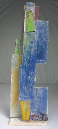 Jean Michel Correia Painted Wood and Board Construction 1995 - 260567