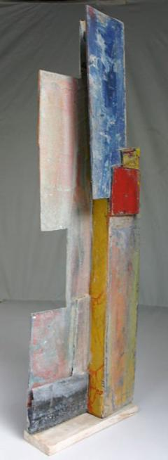 Jean Michel Correia Painted Wood and Board Construction 1995 - 260571
