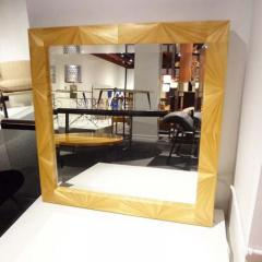 Jean Michel Frank A Large Wall Mirror in Straw Marquetry in the style of Jean Michel Frank - 255000
