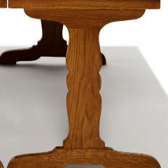 Jean Michel Frank Expanding Tric Trac Coffee Table in Oak by Jean Michel Frank - 823247