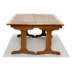 Jean Michel Frank Expanding Tric Trac Coffee Table in Oak by Jean Michel Frank - 823248