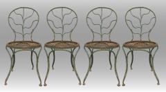 Jean Michel Frank Four garden chairs by Jean Michel Frank 1895 1941  - 1584441
