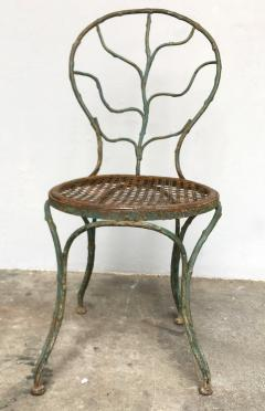 Jean Michel Frank Four garden chairs by Jean Michel Frank 1895 1941  - 1584447