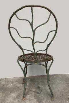 Jean Michel Frank Four garden chairs by Jean Michel Frank 1895 1941  - 1584448