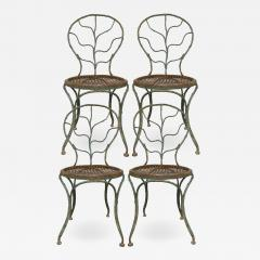 Jean Michel Frank Four garden chairs by Jean Michel Frank 1895 1941  - 1585035