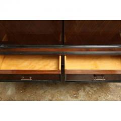 Jean Michel Frank Mid Century Modern Argentine Newly Refinished Lignum Vitae Bar Cabinet - 320850