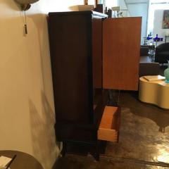 Jean Michel Frank Mid Century Modern Argentine Newly Refinished Lignum Vitae Bar Cabinet - 320852