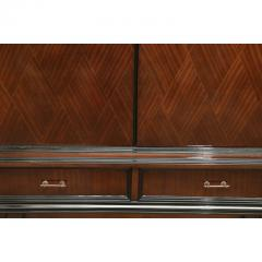Jean Michel Frank Mid Century Modern Argentine Newly Refinished Lignum Vitae Bar Cabinet - 320854