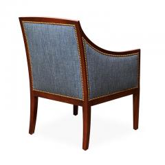 Jean Michel Frank Pair of Armchairs in Mahogany Attributed to Jean Michel Frank - 569394