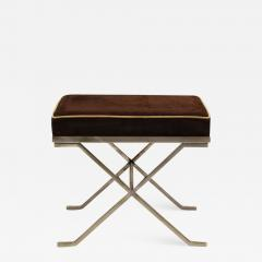 Jean Michel Frank Pair of Modern Neoclassical Benches or Stools in the Manner of Jean Michel Frank - 1879903