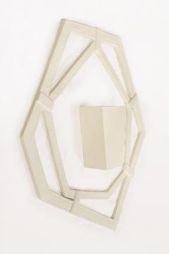 Jean Michel Frank Pair of Sculptural Plaster Sconces after Jean Michel Frank circa 1970 France - 977775