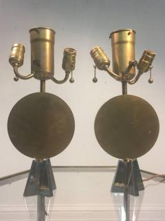 Jean Michel Frank RARE ART DECO DISC AND STAR LAMPS AFTER JEAN MICHEL FRANK - 869617