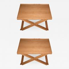 Jean Michel Frank Two end tables designed by J M Frank and A Chanaux - 917172