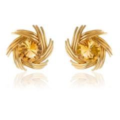 Jean Michel Schlumberger Schlumberger swirl earrings - 783446