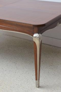 Jean Pascaud Late Art Deco Palisander Extension Dining Table by Jean Pascaud - 37657