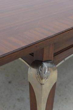 Jean Pascaud Late Art Deco Palisander Extension Dining Table by Jean Pascaud - 37660