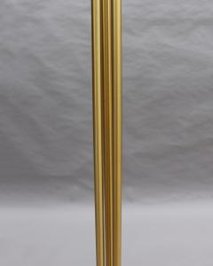 Jean Perzel 2 Fine French Mid Century Bronze and Glass Floor Lamps by Perzel - 2004701