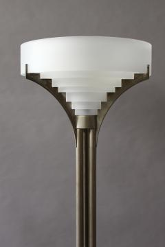 Jean perzel fine french art deco chrome and glass floor lamp by jean perzel fine french art deco chrome and glass floor lamp by jean perzel 430796 mozeypictures Image collections