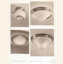 Jean Perzel French Art Deco Conical Flushmount by Jean Perzel - 2004744