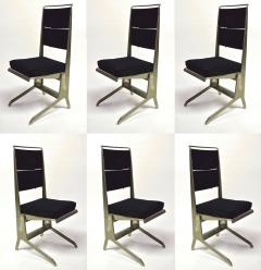 Jean Prouv 6 Folding Chairs Designed by Jean Prouv Edited by Tecta 1983 - 847537