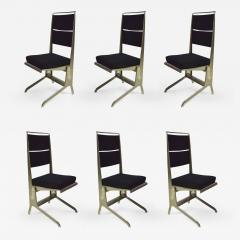 Jean Prouv 6 Folding Chairs Designed by Jean Prouv Edited by Tecta 1983 - 850602