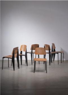 Jean Prouv A Jean Prouve Metropole dining chair - 1904404