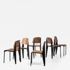 Jean Prouv A Jean Prouve Metropole dining chair - 1907168