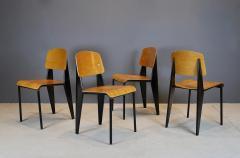 Jean Prouv Jean Prouv Four M tropole Chairs - 1720406