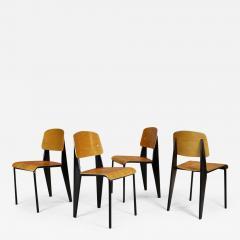 Jean Prouv Jean Prouv Four M tropole Chairs - 1721622