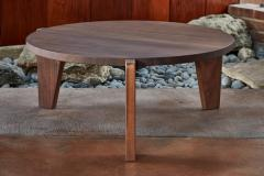 Jean Prouv Jean Prouv Gu ridon Bas Coffee Table in Walnut for Vitra - 903153