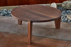 Jean Prouv Jean Prouv Gu ridon Bas Coffee Table in Walnut for Vitra - 903154