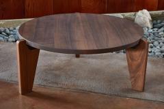 Jean Prouv Jean Prouv Gu ridon Bas Coffee Table in Walnut for Vitra - 903155