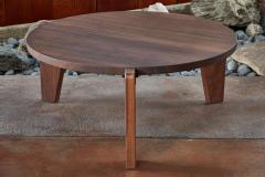 Jean Prouv Jean Prouv Gu ridon Bas Coffee Table in Walnut for Vitra - 903156