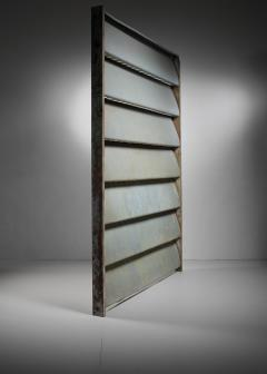 Jean Prouv Jean Prouv Sliding Panel or room divider Cameroon 1964 - 958549