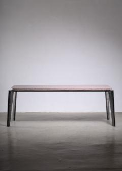 Jean Prouv Jean Prouve model 504 or Flavigny dining table with granito top - 1905913