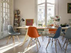 Jean Prouv Vitra EM Table in Asphalt HPL and Coffee by Jean Prouv  - 988669