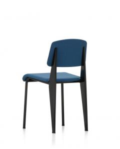 Jean Prouv Vitra Standard SR Chair in Indigo and Deep Black by Jean Prouv  - 988640