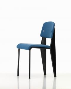 Jean Prouv Vitra Standard SR Chair in Indigo and Deep Black by Jean Prouv  - 988641