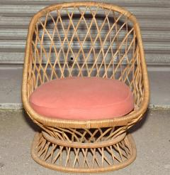 Jean Roy re Jean Roy re Documented Genuine Riviera Rattan Chairs from the 1950s - 378046