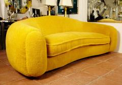Jean Roy re Jean Roy re Genuine Iconic Ours Polaire Couch in Yellow Wool Faux Fur - 1037747