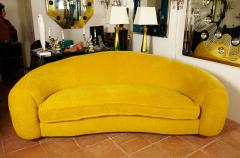 Jean Roy re Jean Roy re Genuine Iconic Ours Polaire Couch in Yellow Wool Faux Fur - 1037757