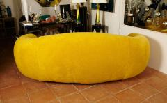 Jean Roy re Jean Roy re Genuine Iconic Ours Polaire Couch in Yellow Wool Faux Fur - 1037761