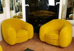 Jean Roy re Jean Roy re Genuine Iconic Ours Polaire pair of chairs in Wool Faux Fur - 1037656
