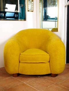 Jean Roy re Jean Roy re Genuine Iconic Ours Polaire pair of chairs in Wool Faux Fur - 1037657