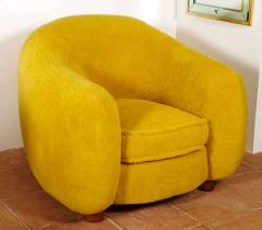 Jean Roy re Jean Roy re Genuine Iconic Ours Polaire pair of chairs in Wool Faux Fur - 1037659
