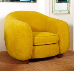 Jean Roy re Jean Roy re Genuine Iconic Ours Polaire pair of chairs in Wool Faux Fur - 1037660