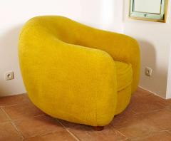 Jean Roy re Jean Roy re Genuine Iconic Ours Polaire pair of chairs in Wool Faux Fur - 1037663