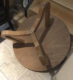 Jean Roy re Jean Roy re Genuine tripod oak coffee table in vintage condition - 1290448