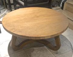 Jean Roy re Jean Roy re Genuine tripod oak coffee table in vintage condition - 1290449