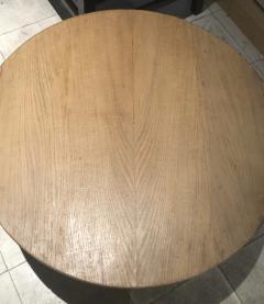 Jean Roy re Jean Roy re Genuine tripod oak coffee table in vintage condition - 1290450